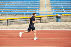 Man running Stock Photos