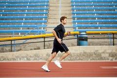 Man running Royalty Free Stock Photo