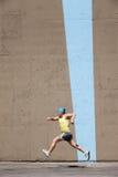 Man running Stock Image