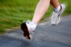 Man running. Active lifestyle concept Royalty Free Stock Images