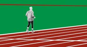 Man running  illustration Stock Photography