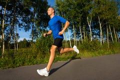 Man running Royalty Free Stock Image