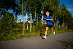 Man running Royalty Free Stock Photo