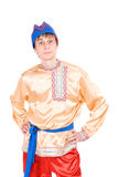 Man in the Russian national costume Stock Image