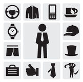 Man's accessories Royalty Free Stock Image
