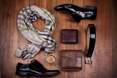 Man's accessories Stock Photography