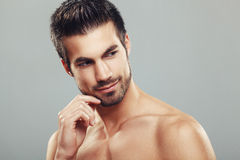 Man's beauty portrait Royalty Free Stock Images