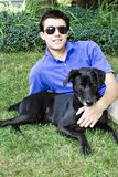 Man's Best Friend royalty free stock photography