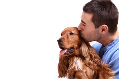 Man's best friend Stock Images