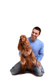 Man's best friend Royalty Free Stock Photos