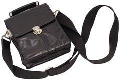 Free Man S Black Bag. Royalty Free Stock Photos - 8122508