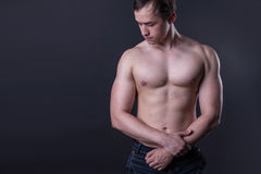 Man's body Royalty Free Stock Photography