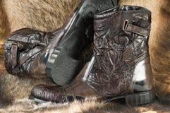 Man's boots. Stock Photos