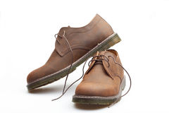 Man's boots Royalty Free Stock Images