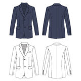 Man`s buttoned jacket Royalty Free Stock Photography