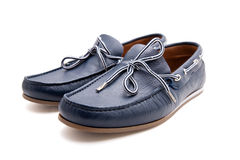 Man's casual shoes Stock Photo