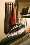 Man's Closet Stock Images