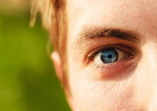 Man's eye Stock Photos
