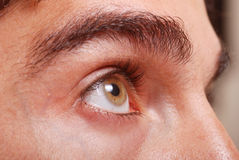 A man's eye closeup Royalty Free Stock Photo