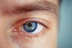 Man's eye Royalty Free Stock Photo