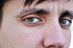 Man's eyes Royalty Free Stock Photography
