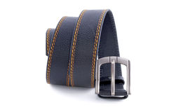 Man's fashion belt isolated Stock Photo