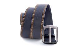 Man's fashion belt isolated Stock Photo