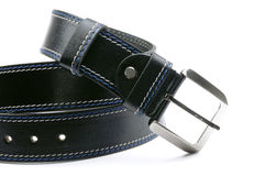 Man's fashion belt isolated Stock Images