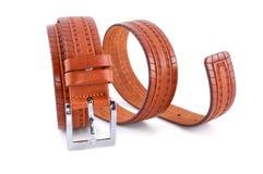 Man's fashion belt  Royalty Free Stock Photo