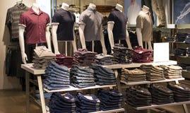 Man's Fashion Mannequin Stock Photo