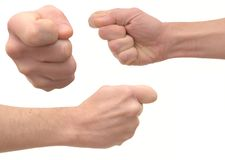 Man's fist Royalty Free Stock Photos