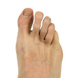 Man's Foot Stock Images