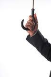 Man's hand keep umbrella Stock Image