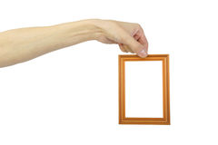 Man S Hand With Frame