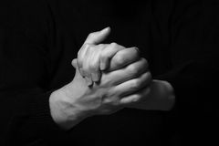 Man's hands Royalty Free Stock Images
