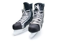 Man's hockey skates. Stock Photos