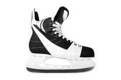 Man's hockey skates Royalty Free Stock Photos