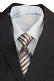 Man's jacket, shirt, tie. Royalty Free Stock Images