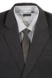Man's jacket, shirt, tie. Royalty Free Stock Image