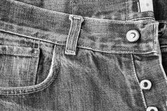 Man`s Jeans Royalty Free Stock Photo