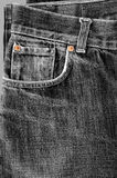 Man`s Jeans Royalty Free Stock Photography