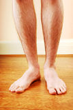 A man's legs Royalty Free Stock Photography