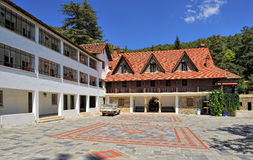 Man's monastery of Blessed Virgin Mary of Troodosskaya Royalty Free Stock Photos