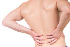 Man's pain Stock Photo