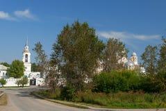 Man's Piously-Nikolaev monastery Stock Photo