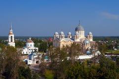 Man's Piously-Nikolaev monastery Royalty Free Stock Photography