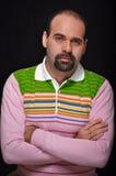 Man's portrait. This picture represents a middle age man portrait Stock Photography