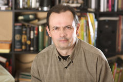The man's portrait Stock Photo