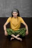 Man& x27; s portret z dreadlocks, hipisa styl Zdjęcie Stock
