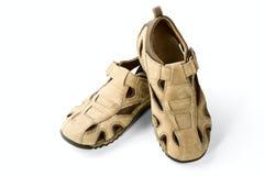 Man's sandals Stock Images